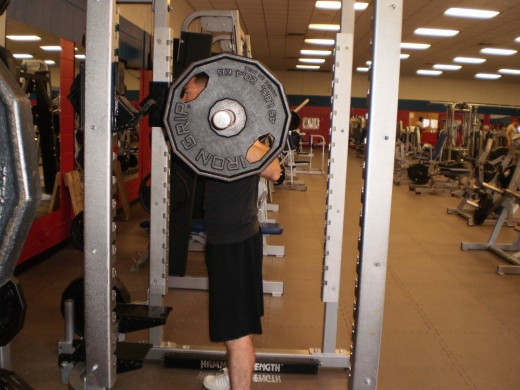 The Squat start position