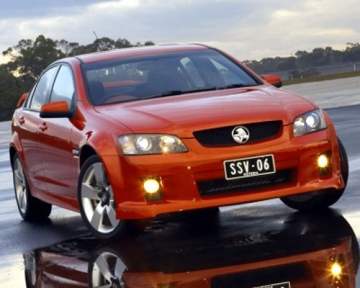 The 2006 The Holden Commodore SS VE