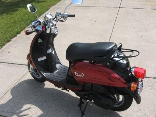 My Yamaha Vino 125