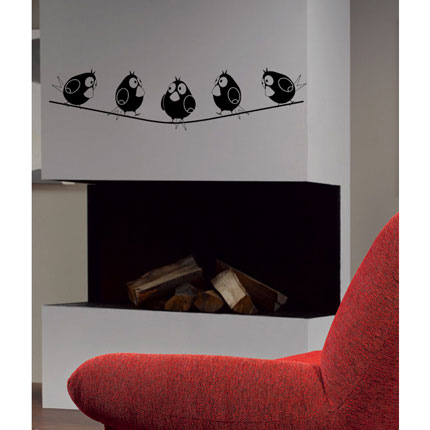 Wall stickers can be a talking piece.