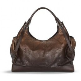 BURBERRY DEGRADE LACE LEATHER TOTE - AROUND $1,600