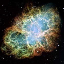 The Hubble Space Telescope shows the center of the Crab Nebula in unprecedented detail.
