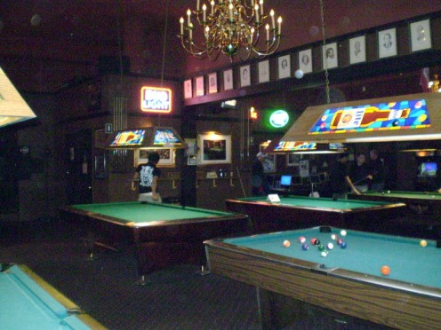 The Pool Hall ~ Now simply a Memory
