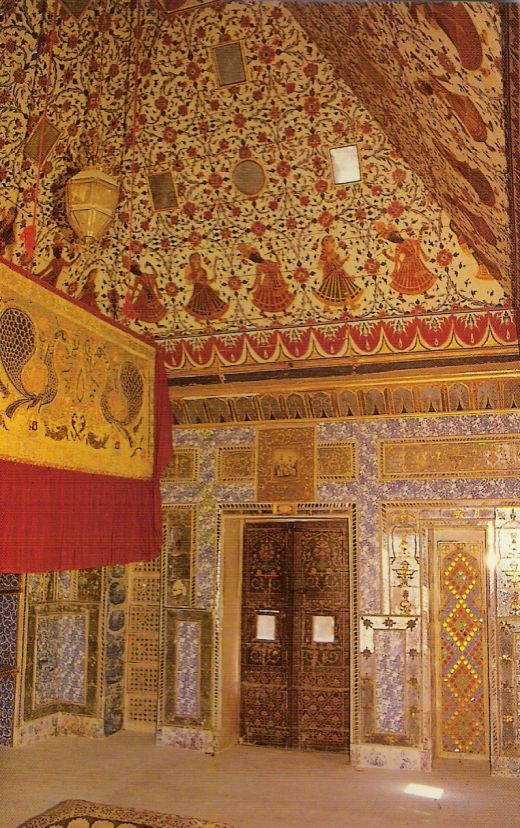 A room in same Bikaner palace