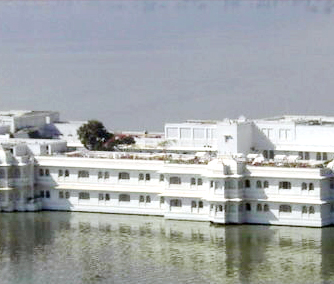 Lake palace at udaipur, Rajasthan.This is now coverted into a five-star hotel.Many other good palaces in india are converted into hotels.Lalith mahal palace at Mysore, Lakshmivilass palce at Bikaner, kolhapur palace, etc are such other palaces conv