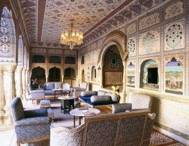 interior of a Palace in north India