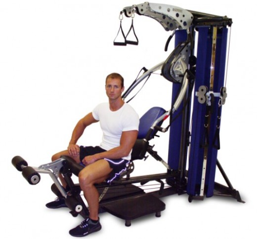 Inspire M-4 home gym does both traditional and functional training.