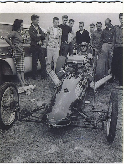 Photo of Don's car, the one without the needle nose front end.