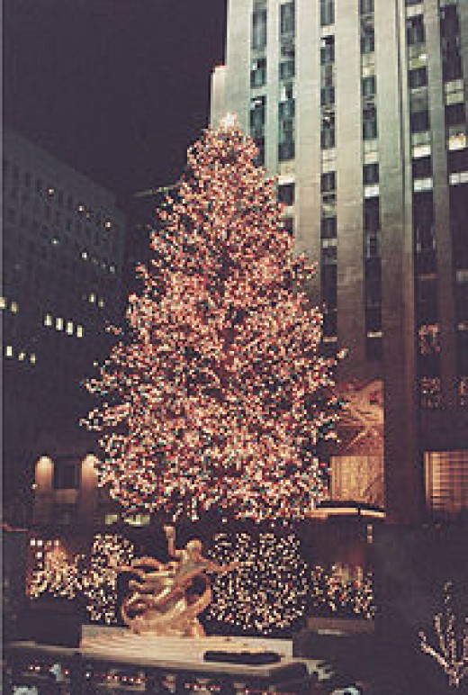 The Rockefeller Center Tree is a New York tradition.