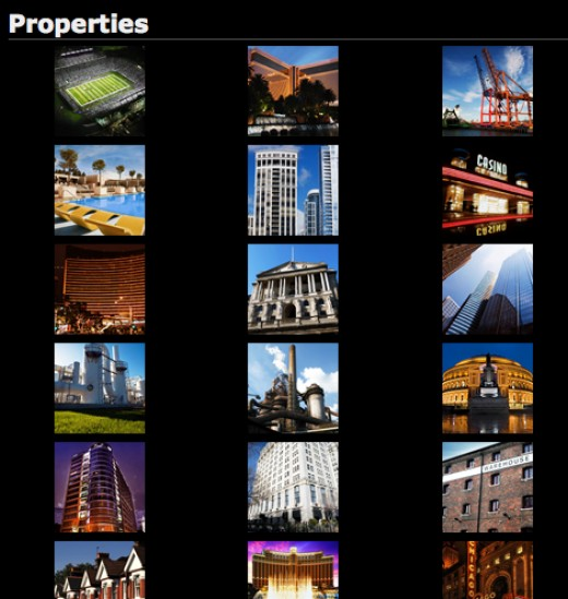 I now have more properties than could be fit into one screen... :-)
