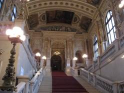 Inside the Burg Theatre