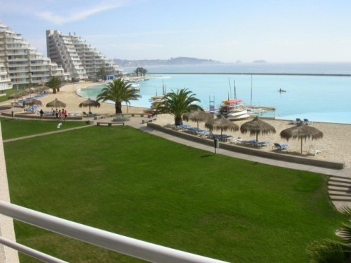 San Alfonso del Mar seawater pool - largest swimming pool in the world.