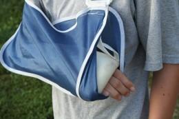 Just broke a bone!