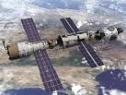 International Space Station: stepping stone to the stars?          photo shuttlepresskit.com