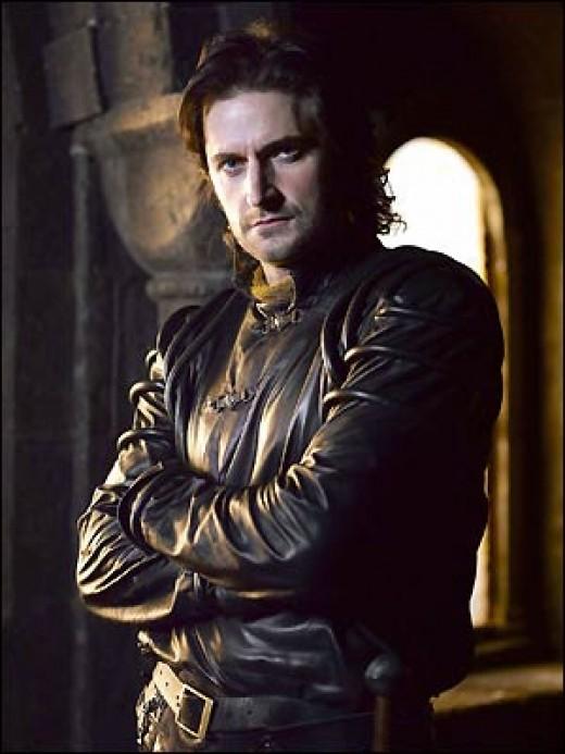 "Richard Armitage as Sir Guy of Gisborne, BBC's TV Series ""Robin Hood"""