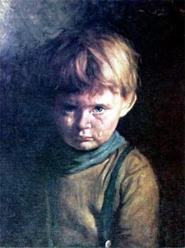 """""""Crying Boy""""-Bruno Amadio"""