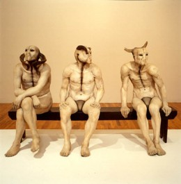 """The Butcher Boys"" (1985/86) Plaster-Jane Alexandar    Photo Courtesy of pbs.org."
