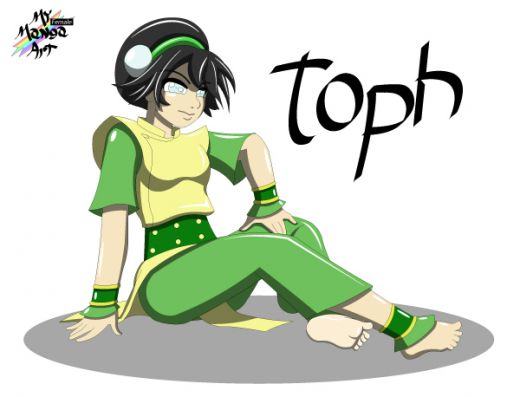 Toph from avatar fan art