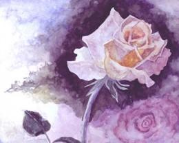 Watercolor Copyright Ruth Elayne Kongaika