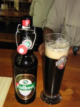 Schwarz bier to be exact