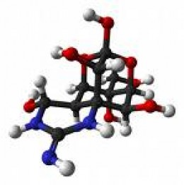 The tetrodontoxin molecule.  Nature is pretty smart at defending her creatures.    photo promedmail.org
