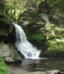 Lower Bridesmaids Falls (20 feet)