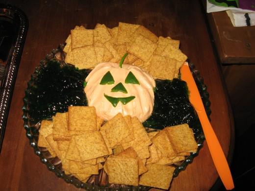 Cracker spread.