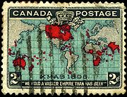 Canada is credited with issuing the first Christmas stamp in 1898.