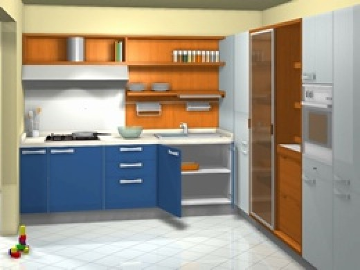 Created Using Kitchen Cabinet Design Software