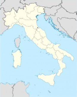 Sardinia lies off the Western coast of Italy. Arborea is in the area known as the province of Oristano, on the Southwestern coast.