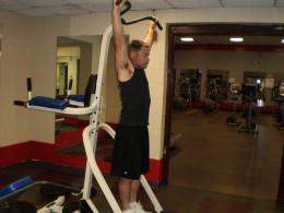 The Hanging Leg Raise start position
