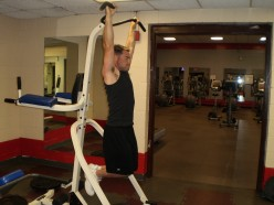 The Hanging Knee Raise start position