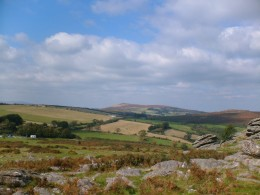 Easdon from Hound Tor