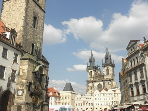 Despite a number of foreign invaders, Prague's Old Town Square has remained virtually untouched since the 10th century. Standing there you feel the walls of the Rococo Kinsky Palace, the Gothic Tyn Cathedral and the Baroque St. Nicholas Church fall o