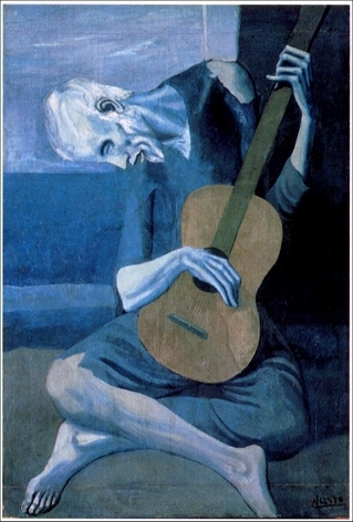 The design for the Pikasso was inspired by Picasso's cubist paintings.