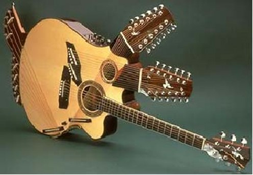 A truly amazing instrument with unique sound. 42 strings for the richest guitar sound ever!