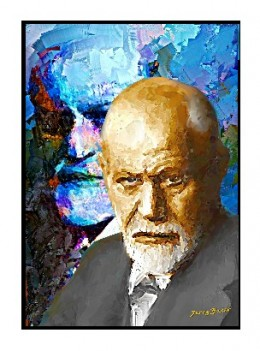 Sigmund Freud by Jerry Bacik