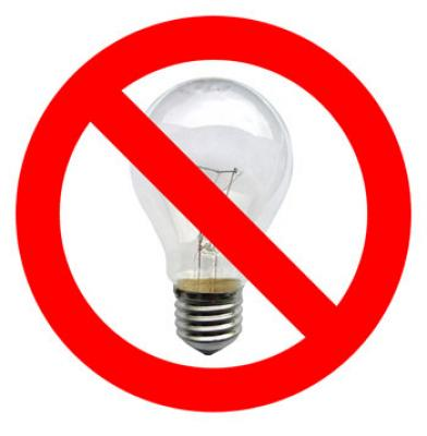 Incandescent Light Bulbs are going to be extinct very soon!