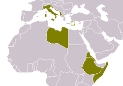 Having Joined with the Nazi regime, Mussolini quickly attempted to conquer Africa