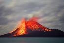 Modern eruption on Krakatau          Flickr.com photo