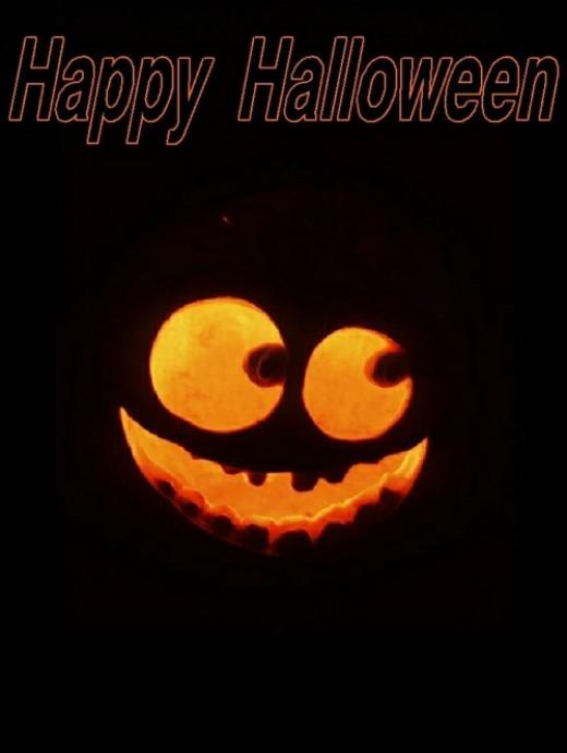 Halloween pumpkin back ground