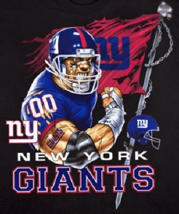 NFL Football Team New York Giants