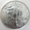 uncirculated american Silver Eagle