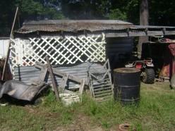 Starting your junk yard from scratch....scratch metal, scratch wood, scratch steel, scratch plastic, chicken scratch.....