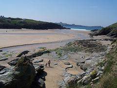 Porth Beach, Newquay, Cornwall