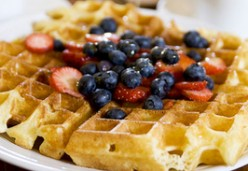 Best, Easiest, Quickest Pumpkin Waffle Recipe for the Holidays