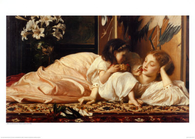 Mother and Child  /Frederick Leighton
