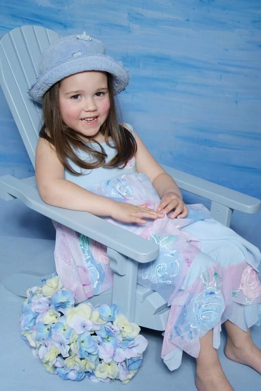 Toddler Girl Photo-shoot