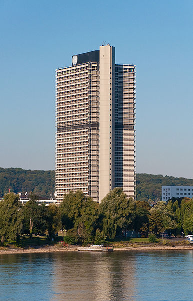 Langer Eugenm UN headquarters in Bonn, Germany.