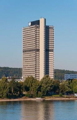 Langer Eugenm UN headquaters in Bonn, Germany (public domain).